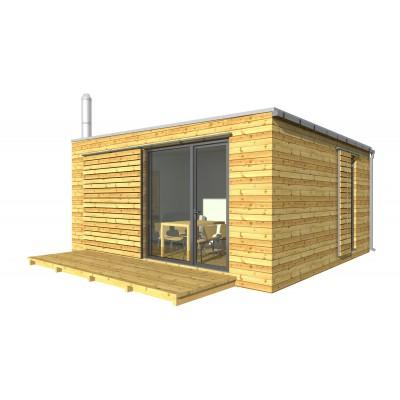 Modularna hiša 2-sobno