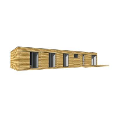 Modularno hišo, 4-sobno